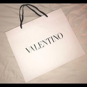 Valentino shopping bag